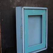 Фоторамки ручной работы. Ярмарка Мастеров - ручная работа 3D Глубокая Объемная рамка с дверцей. Handmade.