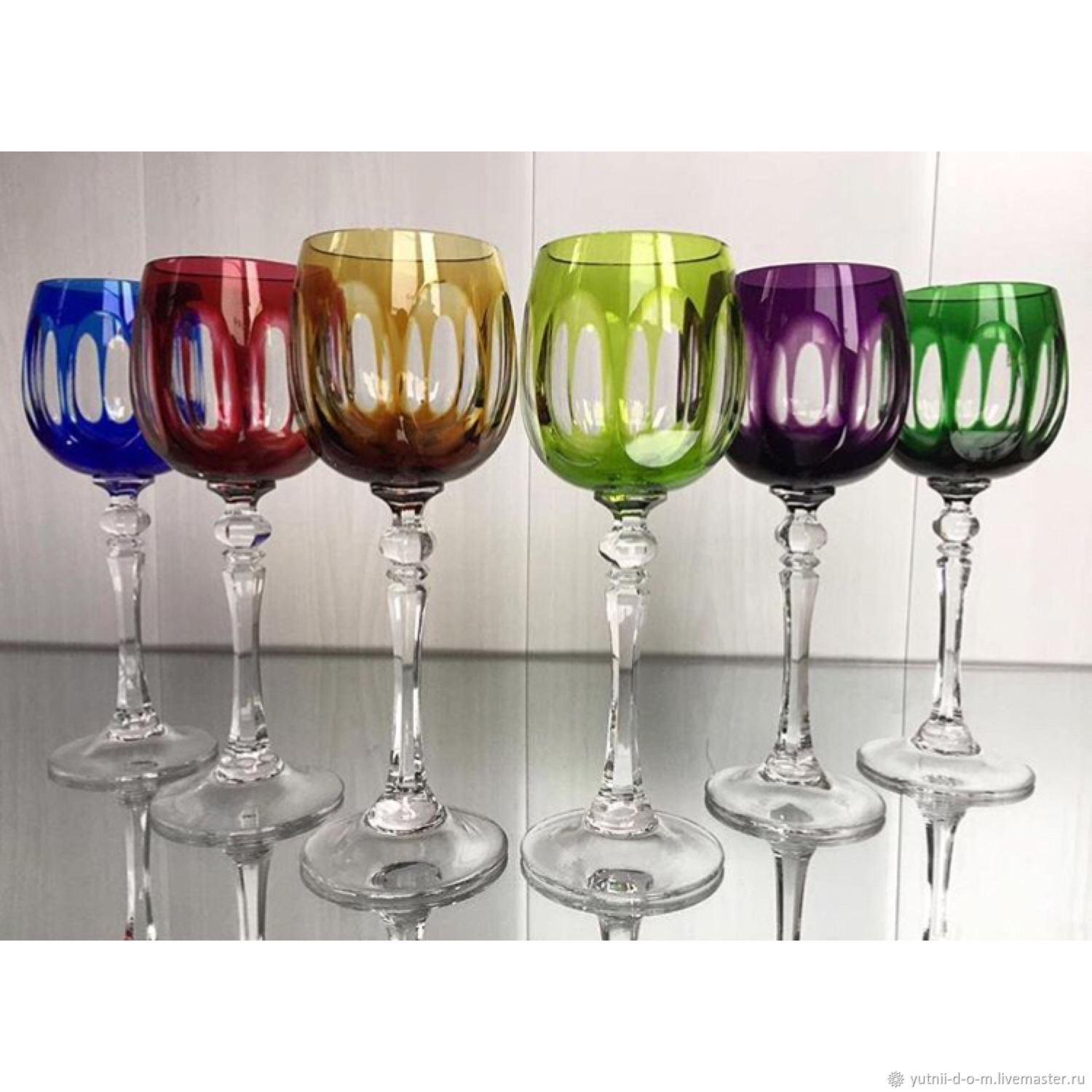 a3080f24d34 Livemaster - handmade. Buy WMF wine Glasses color crystal Germany stamp.