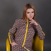 Одежда ручной работы. Ярмарка Мастеров - ручная работа Платье дизайнерское эксклюзивное. Handmade.