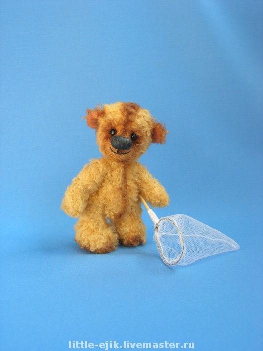 Мишки Тедди ручной работы. Ярмарка Мастеров - ручная работа. Купить мишка Сеня. Handmade.