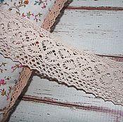 Материалы для творчества handmade. Livemaster - original item Lace cotton wide. Handmade.