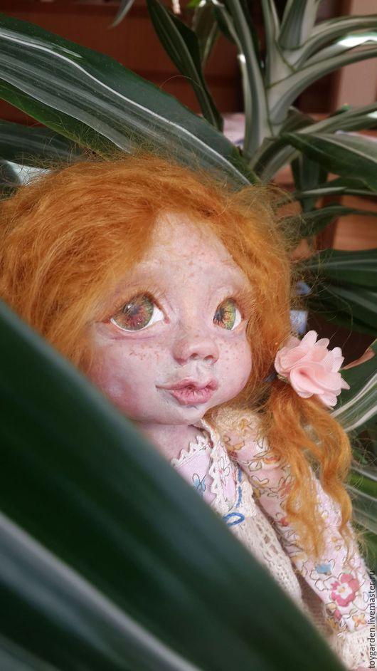 Коллекционные куклы ручной работы. Ярмарка Мастеров - ручная работа. Купить Эльфочка Рыжик. Handmade. Комбинированный, кукла для души, текстиль