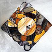 """Для дома и интерьера ручной работы. Ярмарка Мастеров - ручная работа Часы `` Карамельная сказка """". Handmade."""