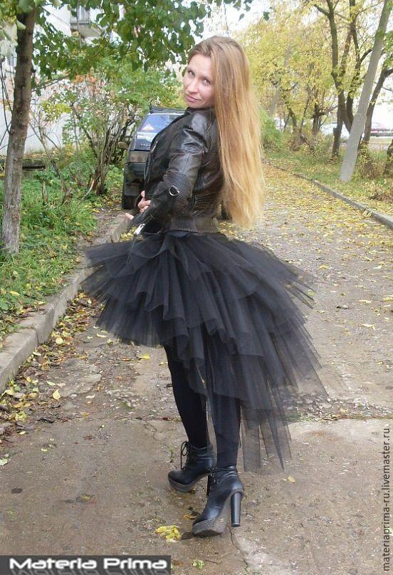 Юбка на хэллоуин