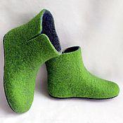 handmade. Livemaster - original item Boots home. Handmade.
