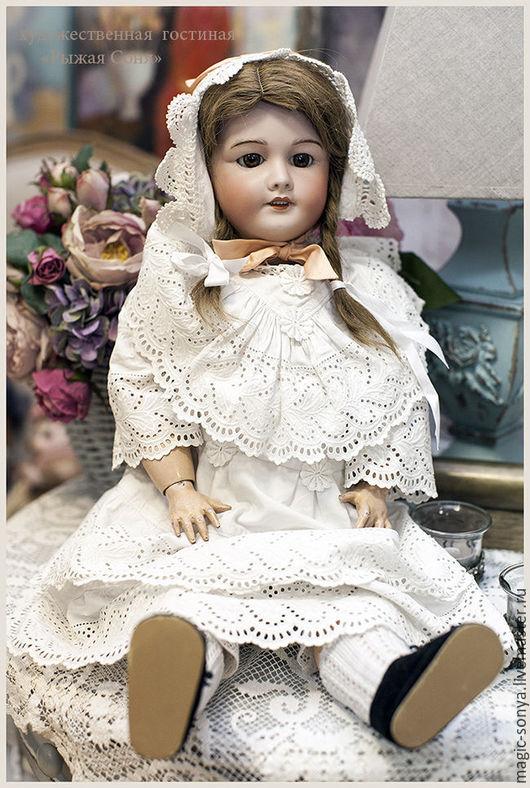 Винтажные куклы и игрушки. Ярмарка Мастеров - ручная работа. Купить Французская антикварная фарфоровая кукла SFBJ. Handmade. Антик
