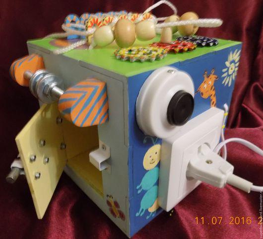 """Развивающие игрушки ручной работы. Ярмарка Мастеров - ручная работа. Купить Бизиборд """"Малыш"""" музыкальный. Handmade. Бизиборд москва, бизиборды"""
