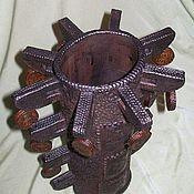 Для дома и интерьера handmade. Livemaster - original item Interior vase Mystery of the Maya. Handmade.