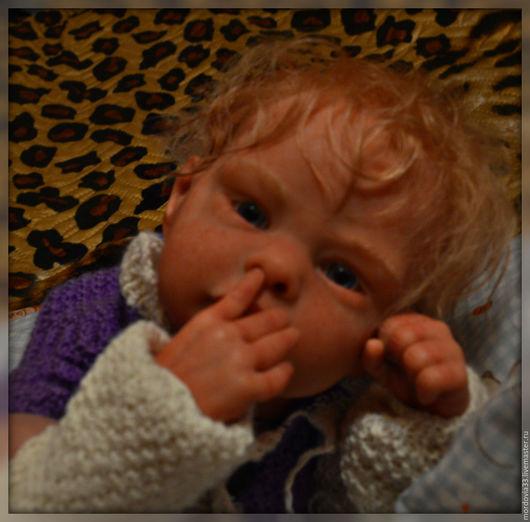Куклы-младенцы и reborn ручной работы. Ярмарка Мастеров - ручная работа. Купить Мелани от скульптора Ирины Капланская. Handmade. Бежевый