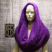 Аксессуары handmade. Livemaster - original item Snood made from the wool of mink. Handmade.