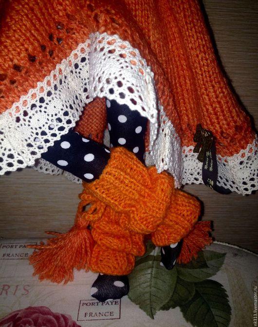 """Одежда для кукол ручной работы. Ярмарка Мастеров - ручная работа. Купить Комплект """"Оранжевое Солнце"""". Одежда для кукол. Handmade. Оранжевый"""