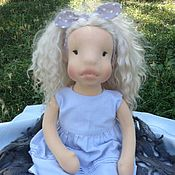 Куклы и игрушки ручной работы. Ярмарка Мастеров - ручная работа Кукла Ника. Handmade.