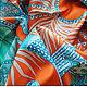 """Шали, палантины ручной работы. Платок из натурального шёлка """"Драгоценные Украшения"""" Hermes. Lady AKT. Ярмарка Мастеров. Гермес, шёлк"""