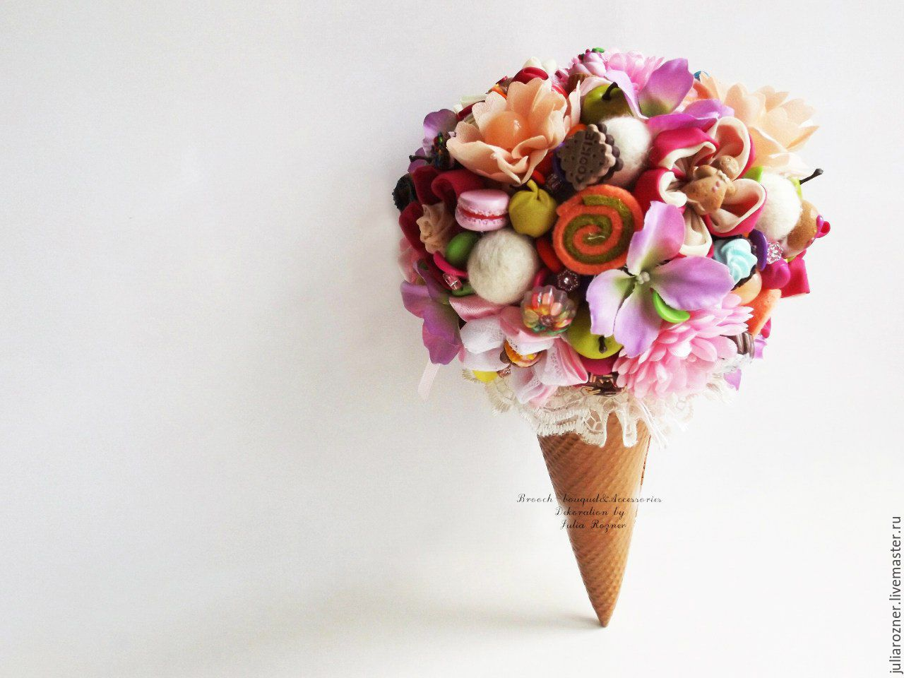 Букеты из необычных цветов