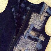 """Одежда ручной работы. Ярмарка Мастеров - ручная работа Жилет детский валяный """"Тетрис"""". Handmade."""