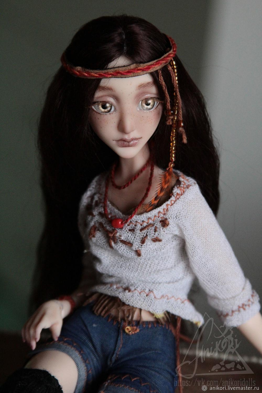 Шарнирная кукла Мишель (BJD) Авторская кукла бжд, Шарнирная кукла, Москва,  Фото №1