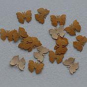 Материалы для творчества ручной работы. Ярмарка Мастеров - ручная работа бабочка маленькая. Handmade.