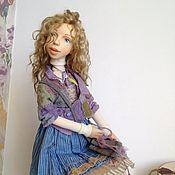 Куклы и пупсы ручной работы. Ярмарка Мастеров - ручная работа Интерьерная кукла в смешанной технике Марьяна. Handmade.