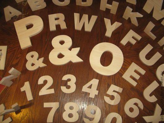 Развивающие игрушки ручной работы. Ярмарка Мастеров - ручная работа. Купить Буквы, цифры, знаки.. Handmade. Обучающие материалы