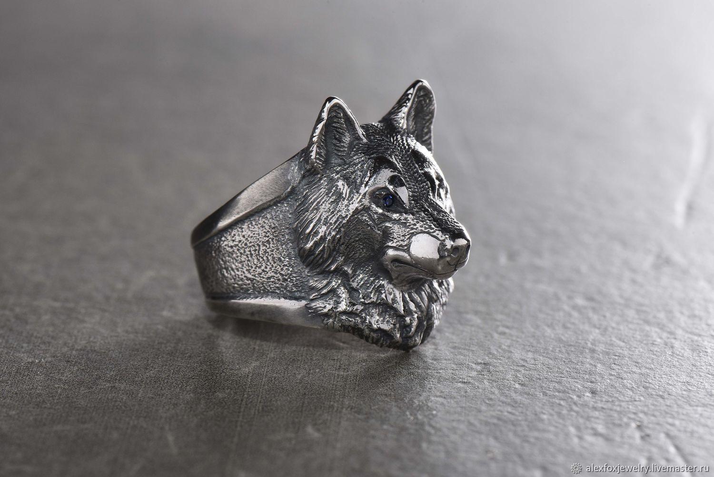 кольцо волк картинки стильных моделей