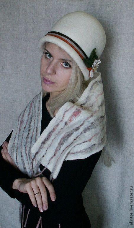 """Шляпы ручной работы. Ярмарка Мастеров - ручная работа. Купить Шляпка """"Скоро весна"""".. Handmade. Однотонный, шерсть 100%"""