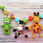Куклы и игрушки ручной работы. Ярмарка Мастеров - ручная работа Подвеска на детскую кроватку. Handmade.