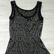 Одежда ручной работы. Ярмарка Мастеров - ручная работа Топ трикотажный с перепадом длины. Handmade.