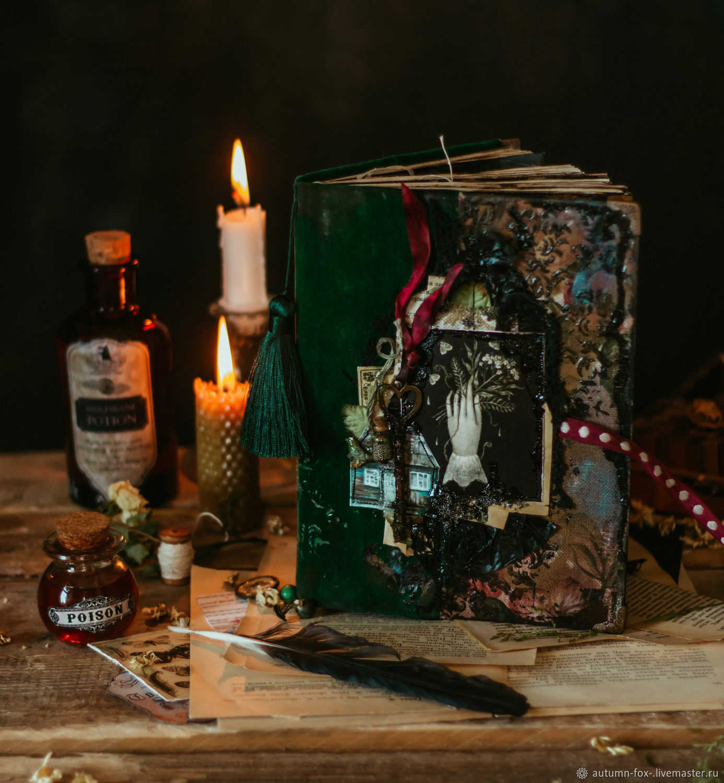 """Блокнот """"Green Witch"""", Блокноты, Санкт-Петербург,  Фото №1"""