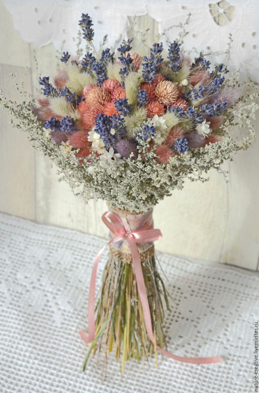 Как из сухих цветов сделать композицию из