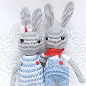 Куклы и игрушки handmade. Livemaster - original item A set of bunnies