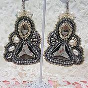 Украшения handmade. Livemaster - original item Earrings beads