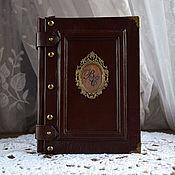 Канцелярские товары ручной работы. Ярмарка Мастеров - ручная работа Книга для записей 13х18 см. Handmade.