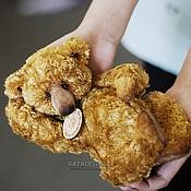 Куклы и игрушки handmade. Livemaster - original item Golden Fell. bear-Teddy Golden Fleece. Handmade.