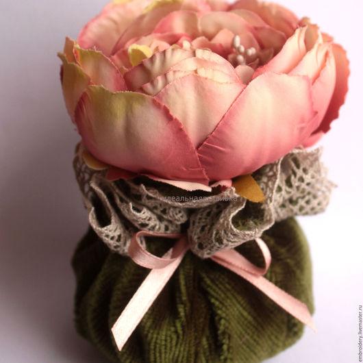 """Персональные подарки ручной работы. Ярмарка Мастеров - ручная работа. Купить Бархатное ароматическое саше """"Виктория"""". Handmade. Лаванда, розы"""