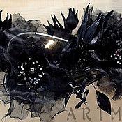 Цветы и флористика ручной работы. Ярмарка Мастеров - ручная работа Цветочное украшение для АБ. Handmade.