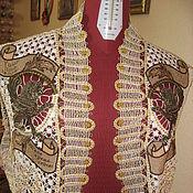 """Одежда ручной работы. Ярмарка Мастеров - ручная работа Болеро """"Твое время - сейчас"""". Handmade."""