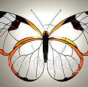 """Для дома и интерьера handmade. Livemaster - original item Stained glass chandelier """"Greta oto"""". Handmade."""