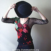 """Одежда ручной работы. Ярмарка Мастеров - ручная работа Пуловер """"Осень в Карпатах"""". Handmade."""