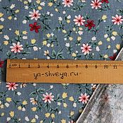 Материалы для творчества handmade. Livemaster - original item Linen-Country blue. Handmade.