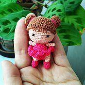 Портретная кукла ручной работы. Ярмарка Мастеров - ручная работа Портретная миниатюрная куколка 4,5 см. Handmade.