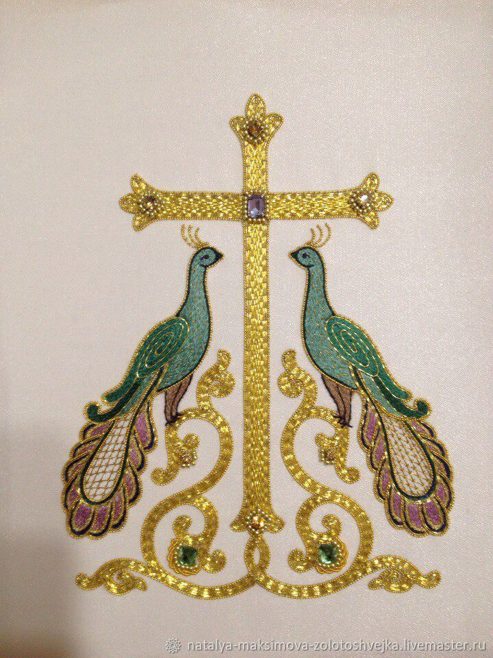 Богослужебная закладка, для Напрестольного Евангелия, Иконы, Санкт-Петербург,  Фото №1