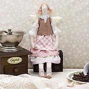 Куклы и игрушки ручной работы. Ярмарка Мастеров - ручная работа Тильда Кофейная Фея. Handmade.