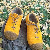 """Обувь ручной работы. Ярмарка Мастеров - ручная работа """"Ах эти желтые ботинки.."""". Handmade."""