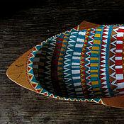 """Посуда ручной работы. Ярмарка Мастеров - ручная работа Поднос """"Рыба"""". Handmade."""