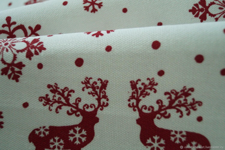 Новогодняя ткань купить купить краску для ткани в митино