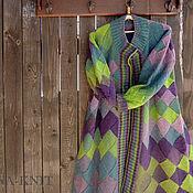 Одежда handmade. Livemaster - original item Knitted coat from County Africa, interlock, wool. Handmade.