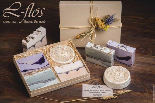 Коллекция мыла `Прикосновение природы` !!!Не содержит лаурилсульфат натрия (SLS)!!!