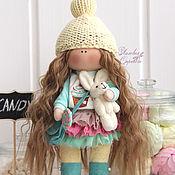 Куклы и игрушки ручной работы. Ярмарка Мастеров - ручная работа Текстильная куколка Сэнди.. Handmade.