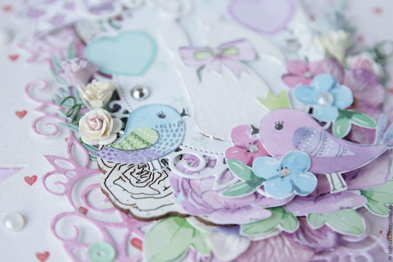 Навруз, открытка на свадьбу с бабочками