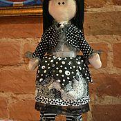 Куклы и игрушки ручной работы. Ярмарка Мастеров - ручная работа Кукла в стиле дзенграфики. Handmade.